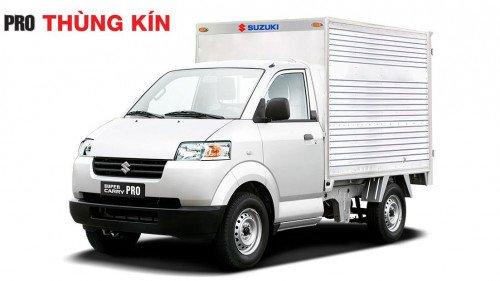 Bán Suzuki Super Carry Truck 1.0 MT sản xuất năm 2017, màu trắng, giá tốt-2