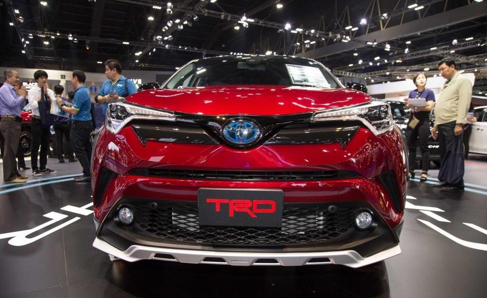 Toyota C-HR 2018 TRD gia nhập Triển lãm Bangkok 2018, thể thao và hấp dẫn 3