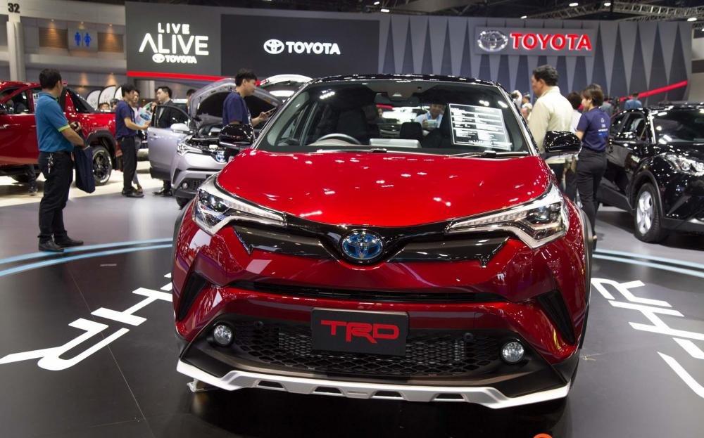 Toyota C-HR 2018 TRD gia nhập Triển lãm Bangkok 2018, thể thao và hấp dẫn.