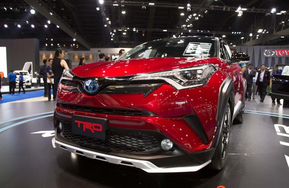 Toyota C-HR 2018 TRD gia nhập Triển lãm Bangkok 2018, thể thao và hấp dẫn 5
