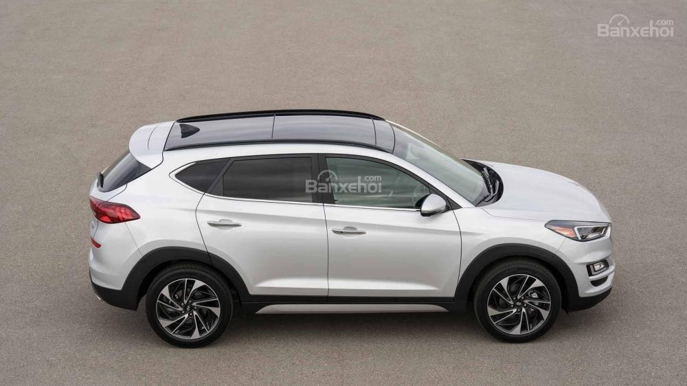 Thân xe Hyundai Tucson 2019