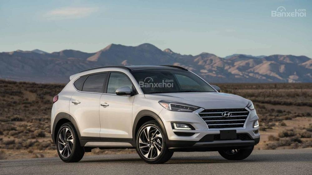 Đầu xe Hyundai Tucson 2019