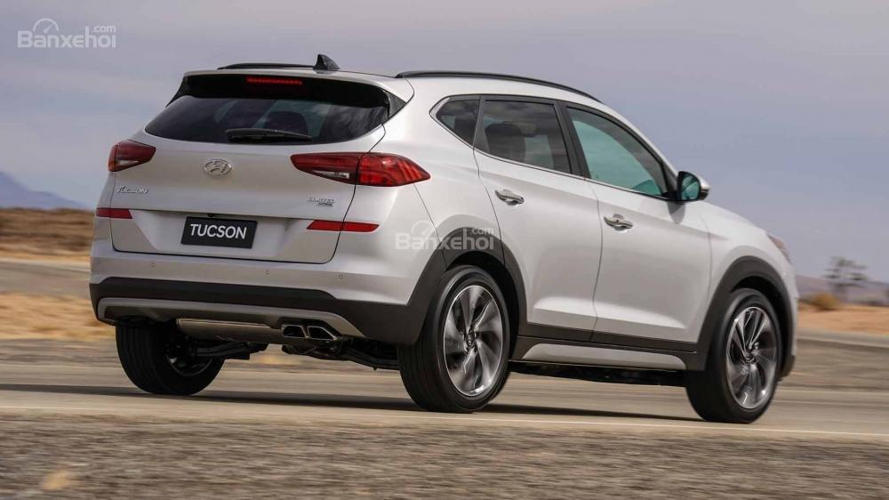 Đánh giá xe Hyundai Tucson 2019 về trang bị an toàn.