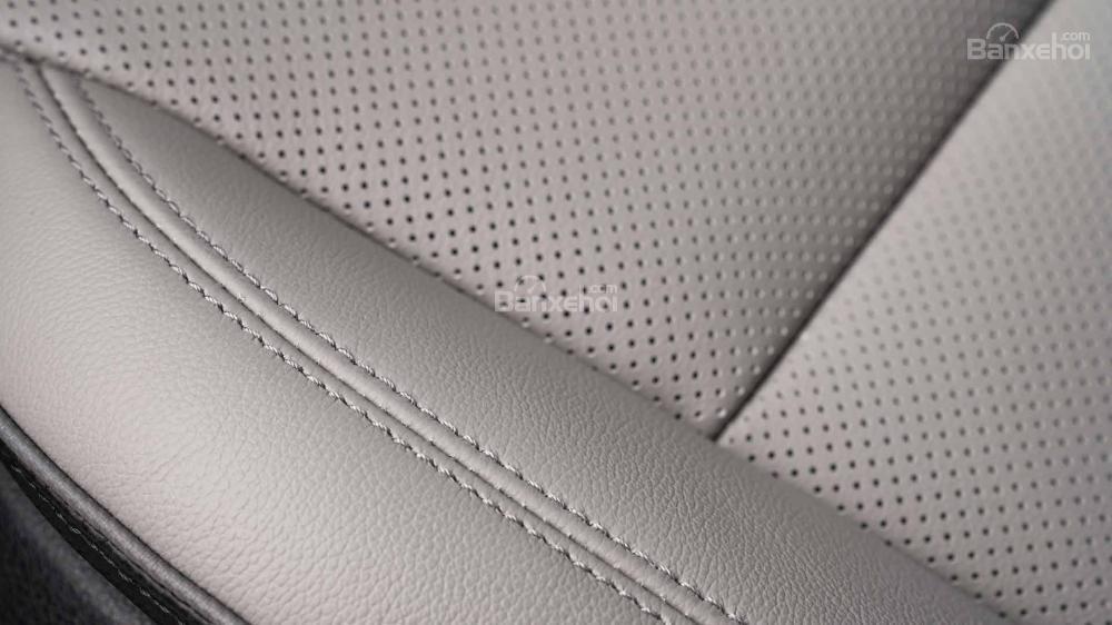 Đánh giá xe Hyundai Tucson 2019: Chất lượng ghế ngồi .