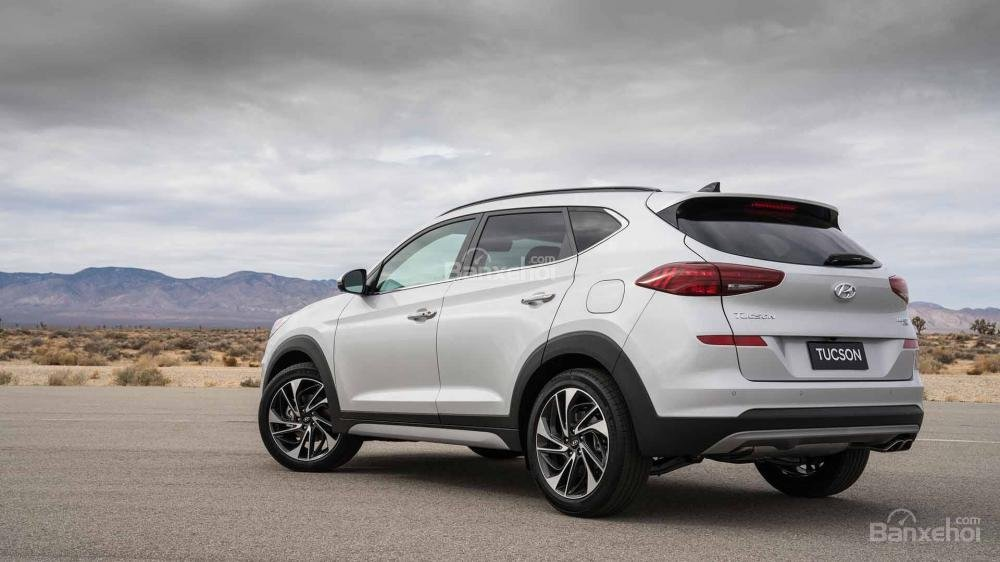 Đuôi xe Hyundai Tucson 2019