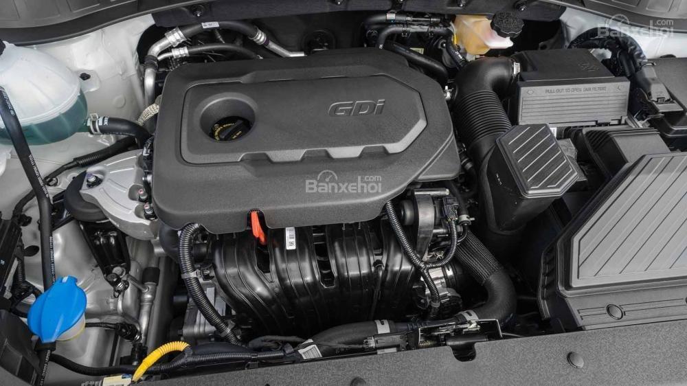 Đánh giá xe Hyundai Tucson 2019 về động cơ.
