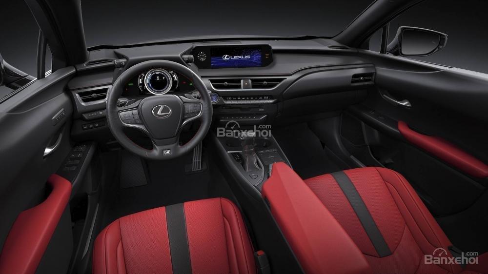 Cabin Lexus UX 2019 - 2020