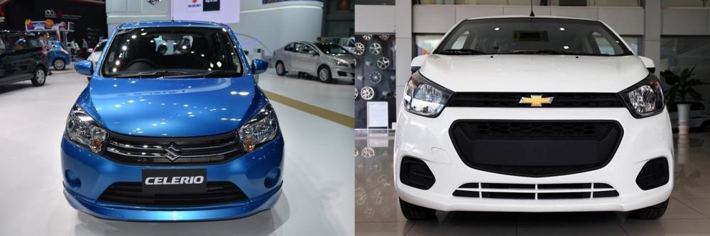Dưới 400 triệu đồng, chọn Suzuki Celerio 2018 hay Chevrolet Spark LT 2018?
