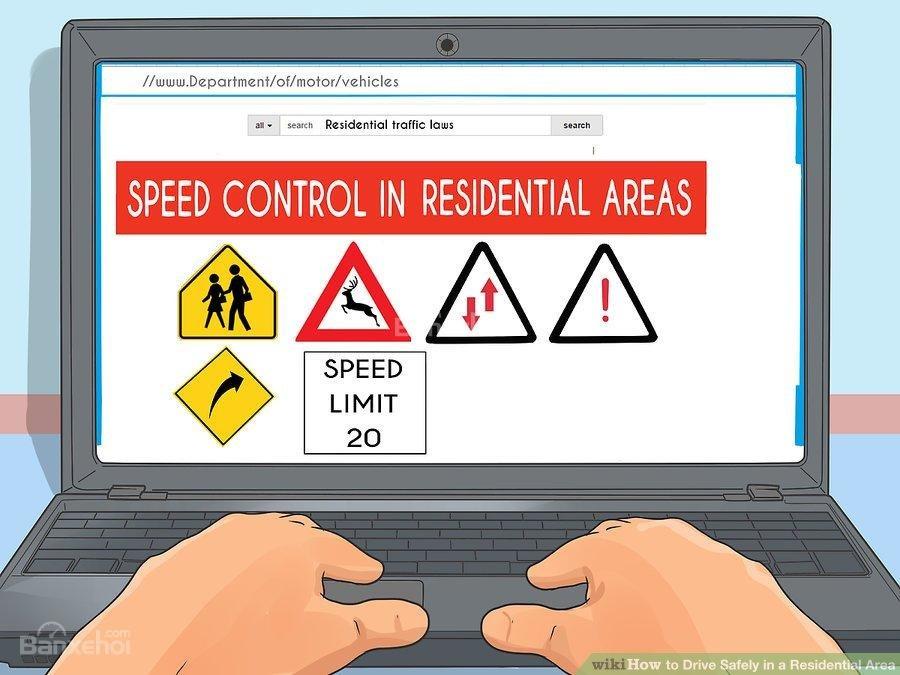 1. Làm quen với luật giao thông trong khu dân cư 1a