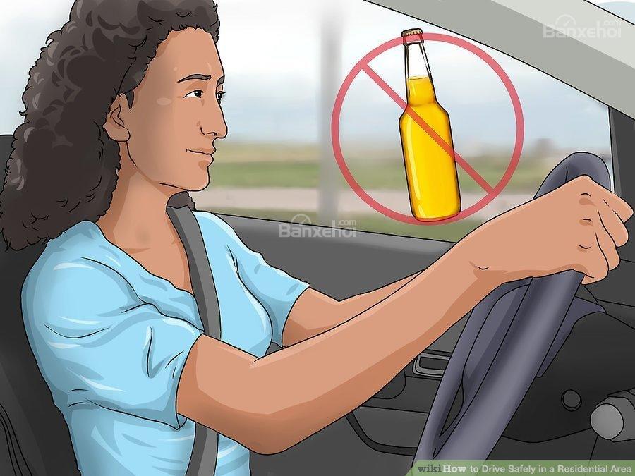 4. Tránh lái xe khi say hoặc buồn ngủ 1