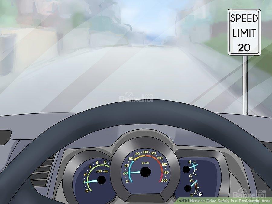 1. Chú ý đến tốc độ lái xezzzs