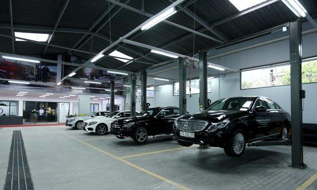 Mercedes Benz Haxaco Kim Giang