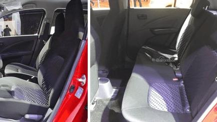 So sánh xe Suzuki Celerio 2018 và Kia Morning S 2018 về ghế ngồi 2