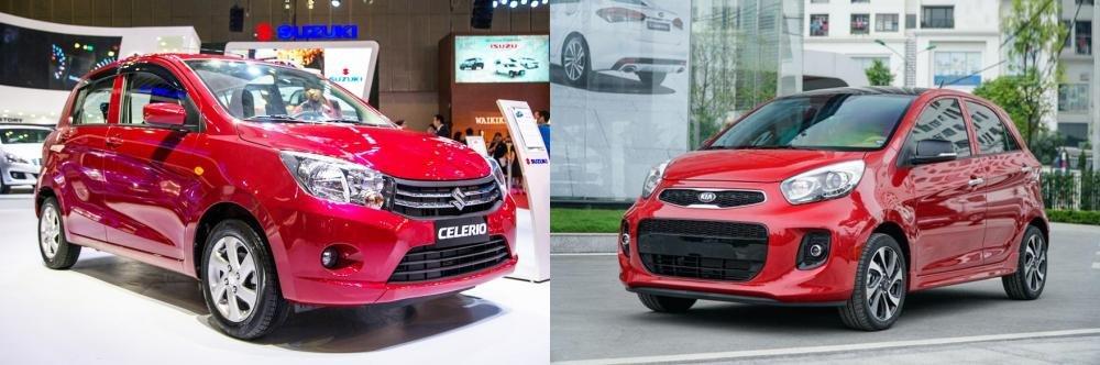 So sánh xe Suzuki Celerio 2018 và Kia Morning S 2018 có giá bán dưới 400 triệu đồng
