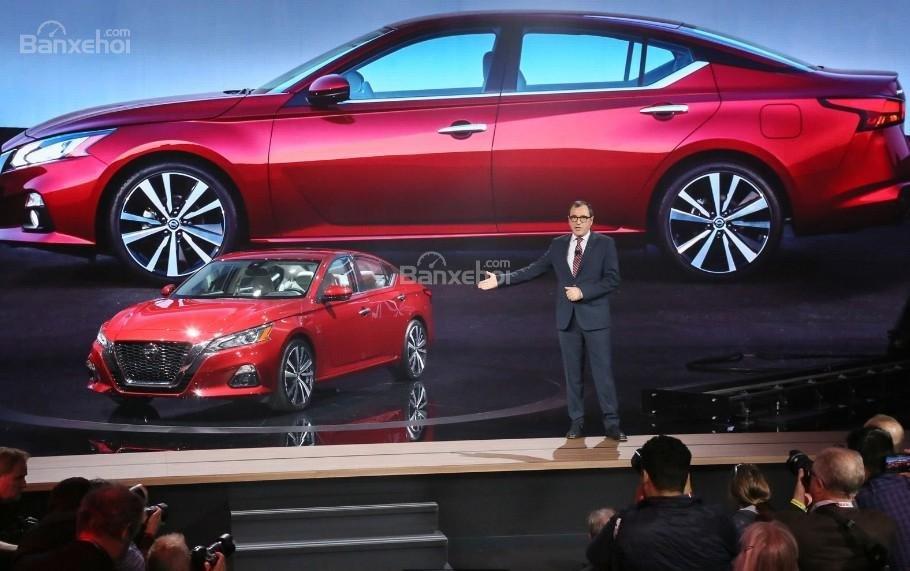 Đánh giá xe Nissan Altima 2019: Nhiều cải tiến mới.