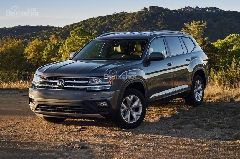 Đánh giá xe Volkswagen Atlas 2018