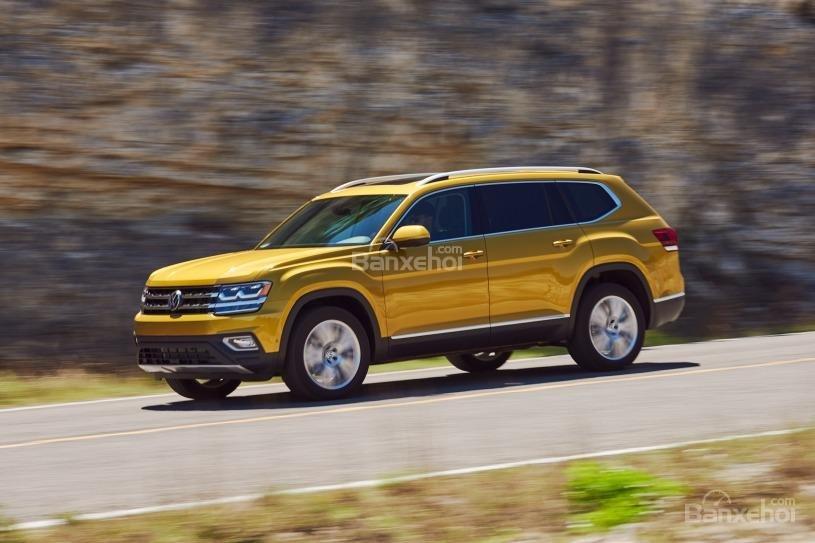 Đánh giá xe Volkswagen Atlas 2018: Nhiều trang bị an toàn 2
