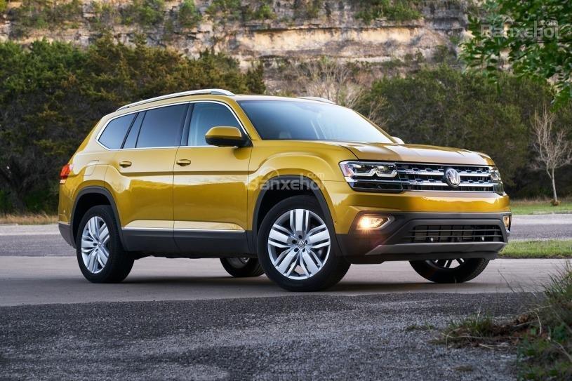 Đánh giá xe Volkswagen Atlas 2018: An toàn ở mọi mặt 2