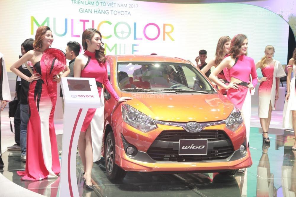 Hàng loạt xe Toyota nhập mới đổ bộ thị trường trong năm 2018 - Toyota Wigo.