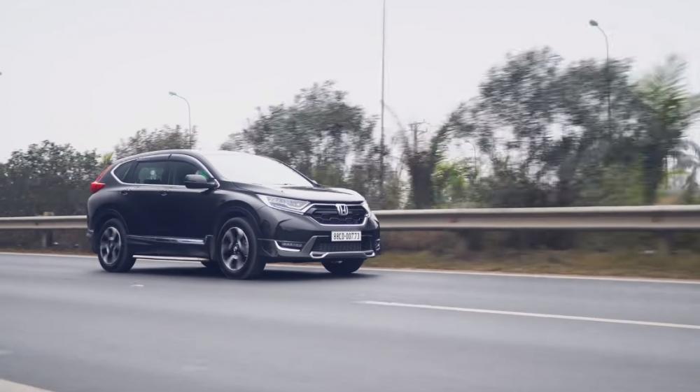 Ảnh chụp trước xe Honda CR-V L 2018