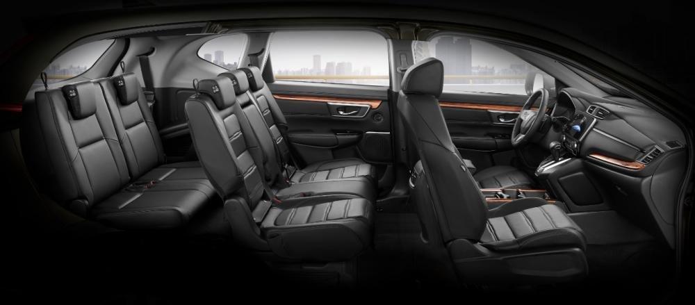 Ảnh chụp ghế xe Honda CR-V L 2018