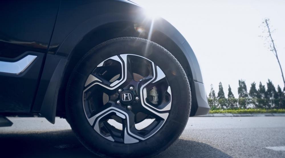 Ảnh chụp vành xe Honda CR-V L 2018