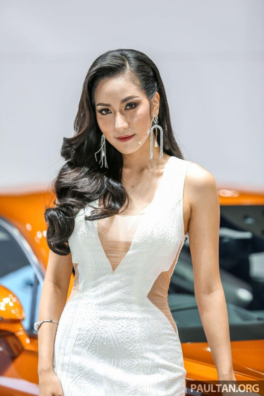 Những bóng hồng xinh đẹp tại Triển lãm Ô tô Bangkok 2018 (8)
