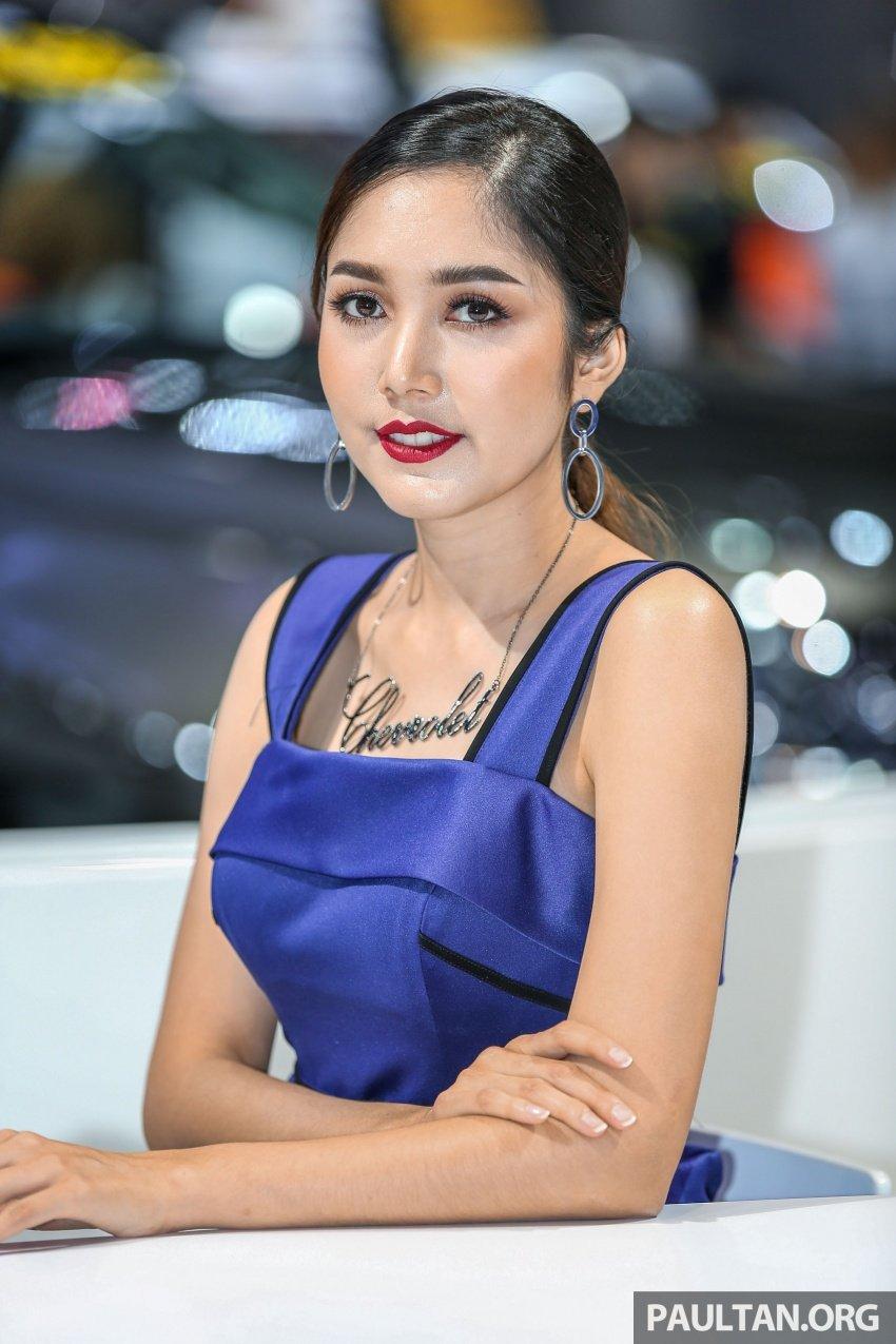 Những bóng hồng xinh đẹp tại Triển lãm Ô tô Bangkok 2018 (12)