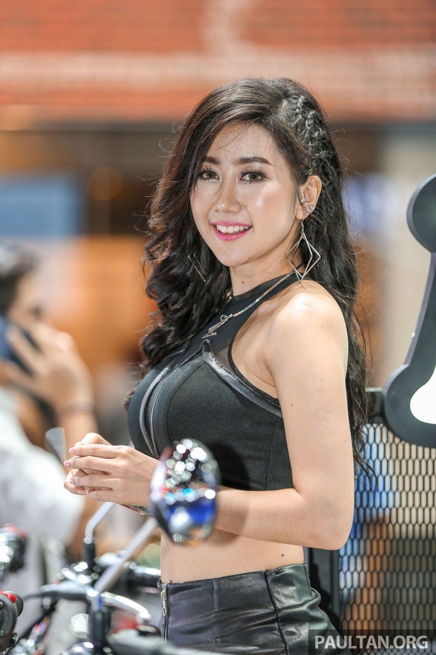 Những bóng hồng xinh đẹp tại Triển lãm Ô tô Bangkok 2018 (13)