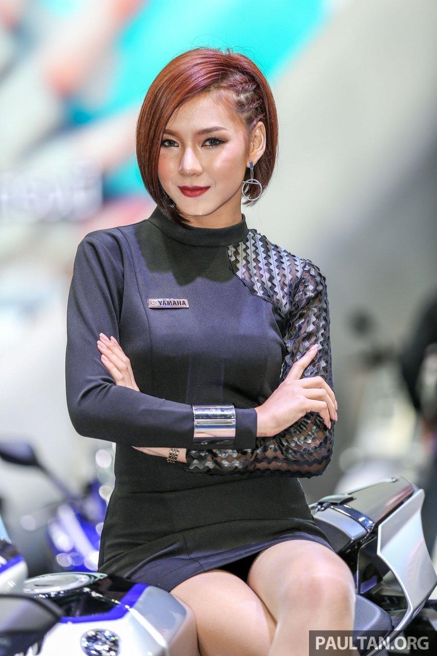 Những bóng hồng xinh đẹp tại Triển lãm Ô tô Bangkok 2018 (3)