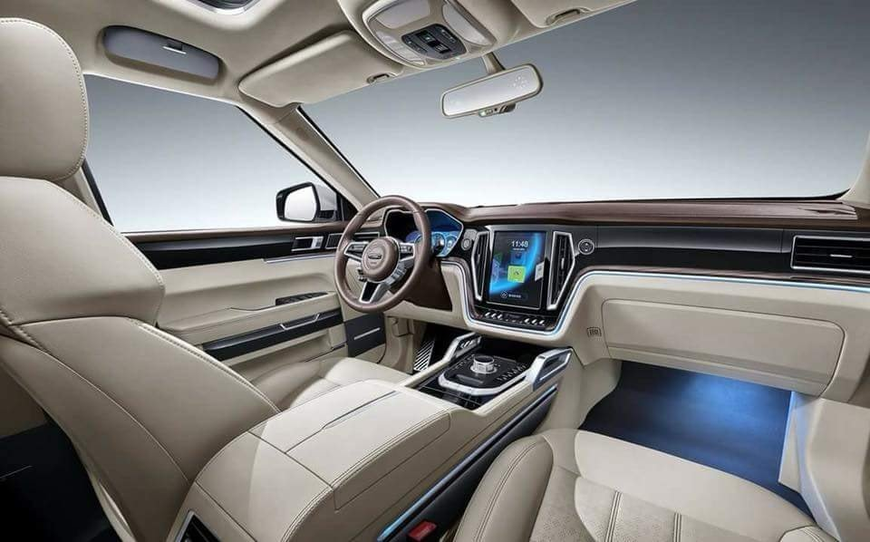 Soi thông số kỹ thuật Zotye Z8 - SUV Trung Quốc nhái hàng loạt xe sang có gì? a10
