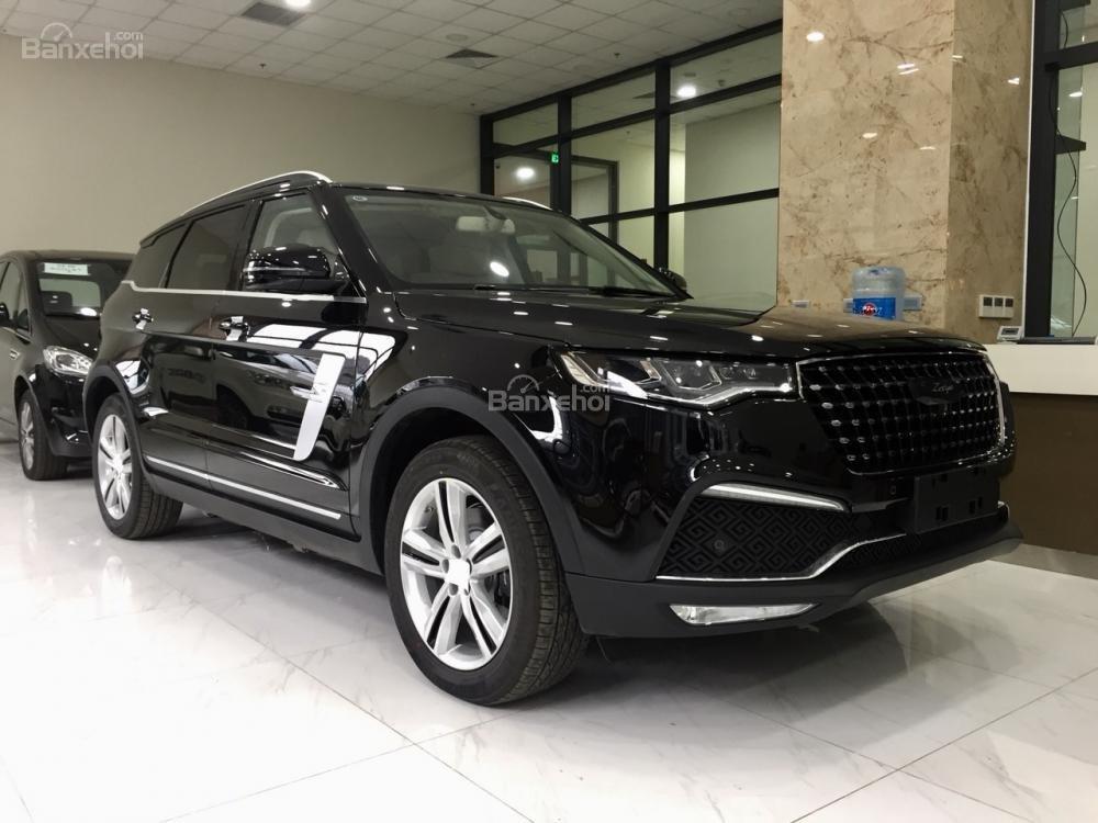 Soi thông số kỹ thuật Zotye Z8 - SUV Trung Quốc nhái hàng loạt xe sang có gì? a1