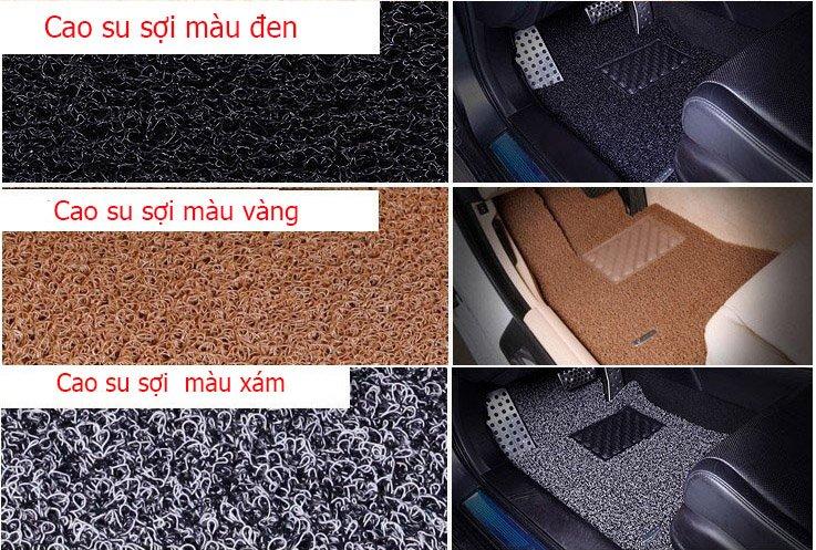 Thảm lót sàn ô tô bằng sợi cao su 1