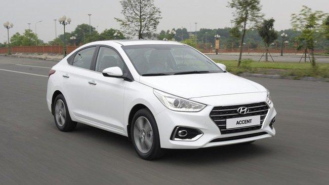 Giá xe Hyundai Accent 2018 mới nhất từ 425 - 540 triệu đồng...
