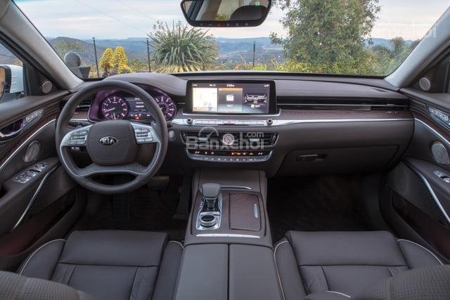 Đánh giá xe Kia K900 2019: Nội thất xe.