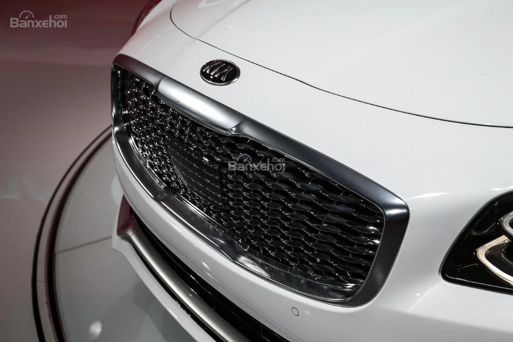 Đánh giá xe Kia K900 2019: Lưới tản nhiệt.