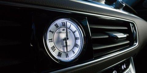 Đánh giá xe Kia K900 2019: Đồng hồ kim.