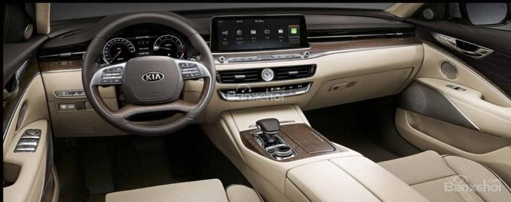 Đánh giá xe Kia K900 2019: Xe được trang bị nhiều tiện ích.