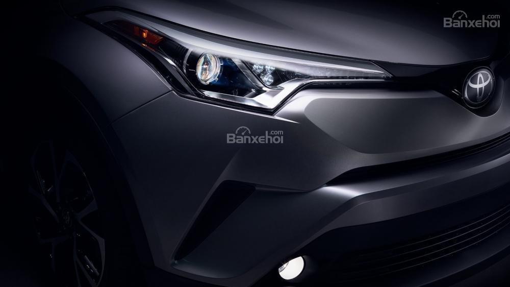 Toyota C-HR 2018 có kiểu dáng ngoại thất thời thượng - Ảnh a1
