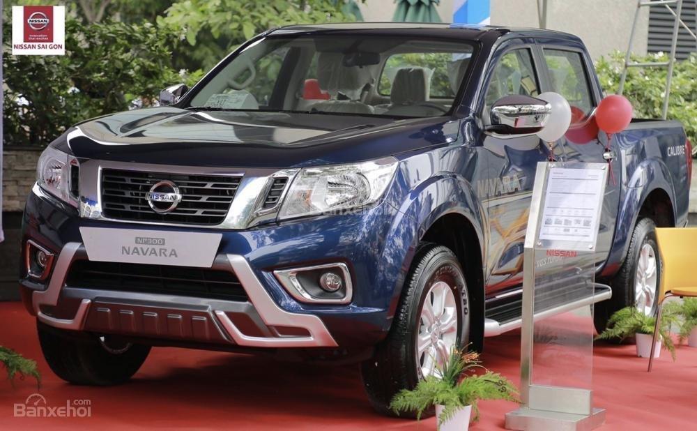 Nissan Gò Vấp - Cần bán xe Nissan Navara EL Premium - tự động 1 cầu, đời 2018-0