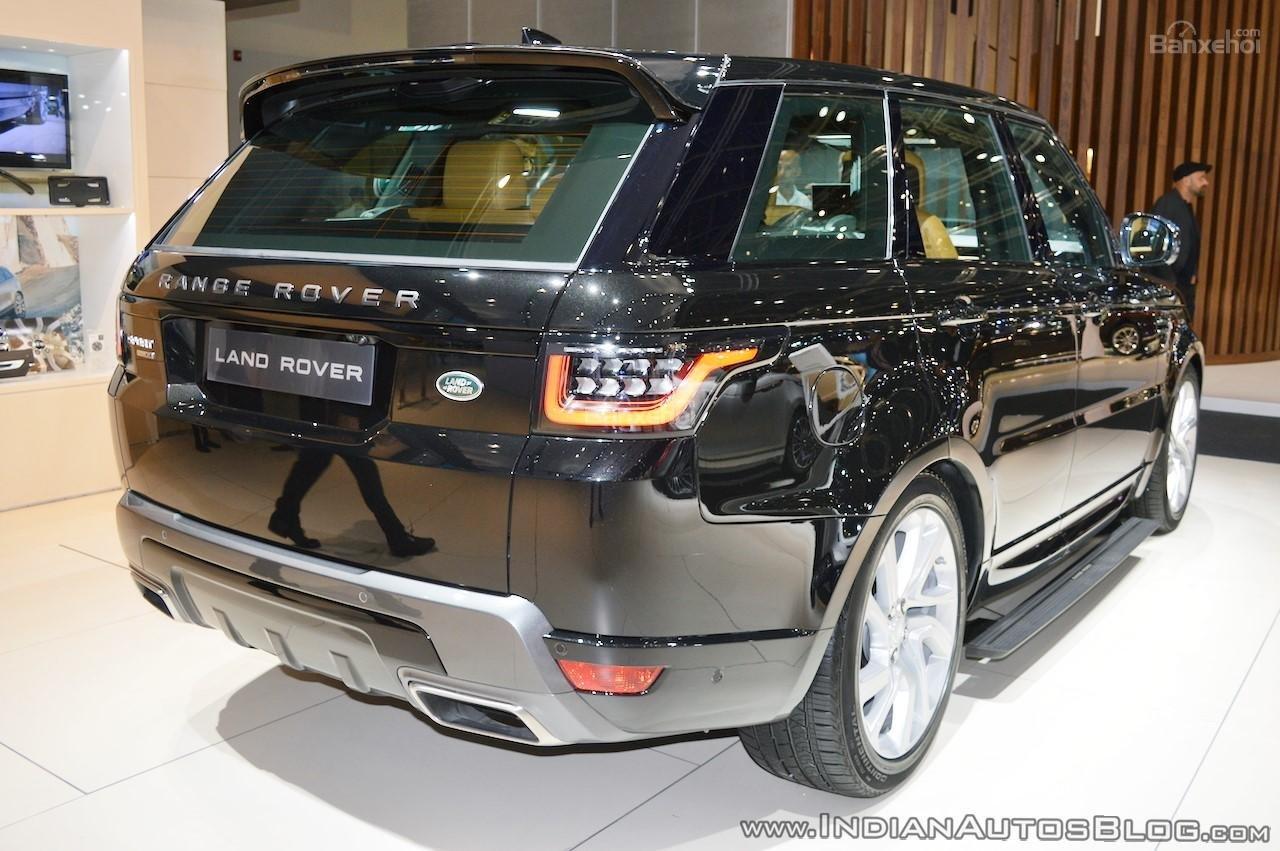 Range Rover Sport Facelift 2018 bắt đầu nhận đơn đặt hàng tại Ấn Độ 2a