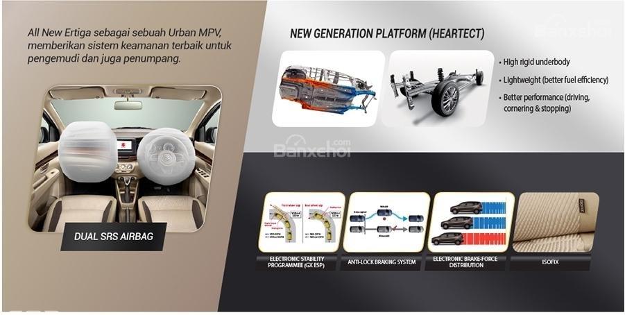 Trang bị tiện ích và an toàn trên Suzuki Ertiga 2018 a2
