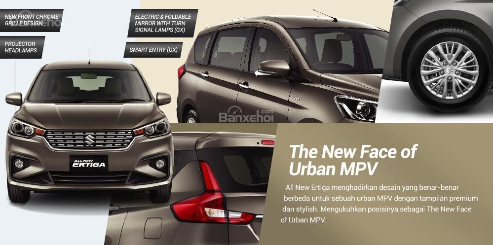 Trang bị ngoại thất mới trên Suzuki Ertiga 2018 - Ảnh a1