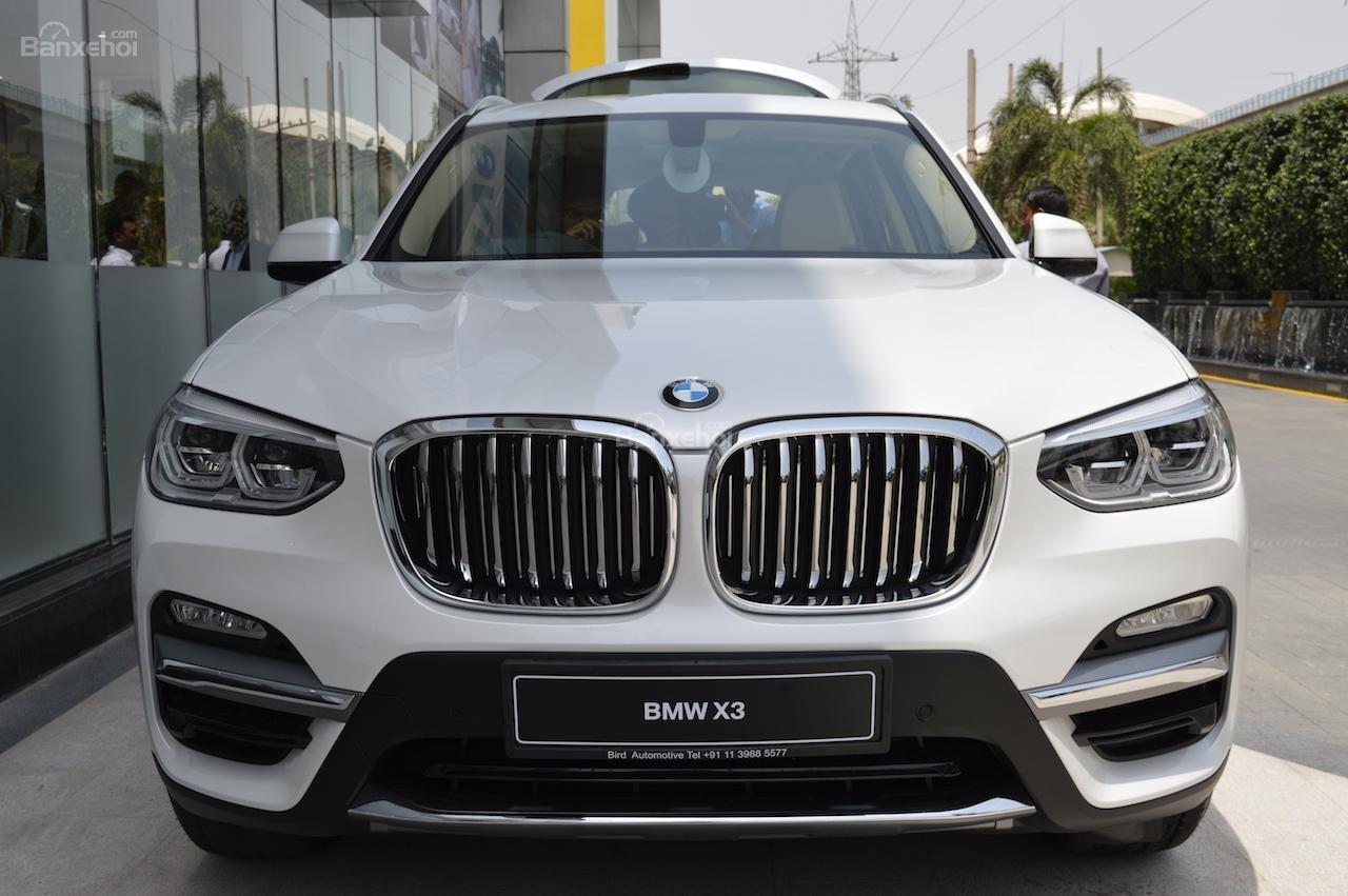 BMW X3 2018 nhập tịch Ấn Độ với giá từ 1,73 tỷ đồng 1a