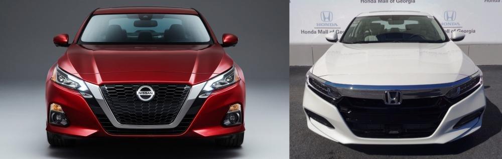 Nissan Altima 2019 và Honda Accord 2018: Liệu có thể soán ngôi thủ lĩnh? 1