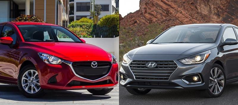 Với 540 triệu, Mazda 2 2018 hay Hyundai Accent 2018 đáng mua hơn?.