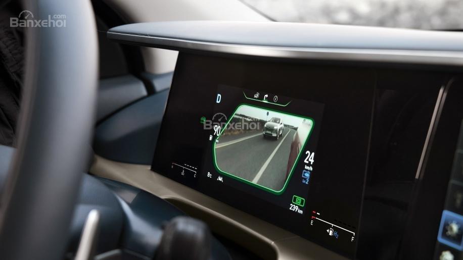 Đánh giá xe Hyundai Nexo 2019: Bảng điều khiển với 2 màn hình hiển thị 1a