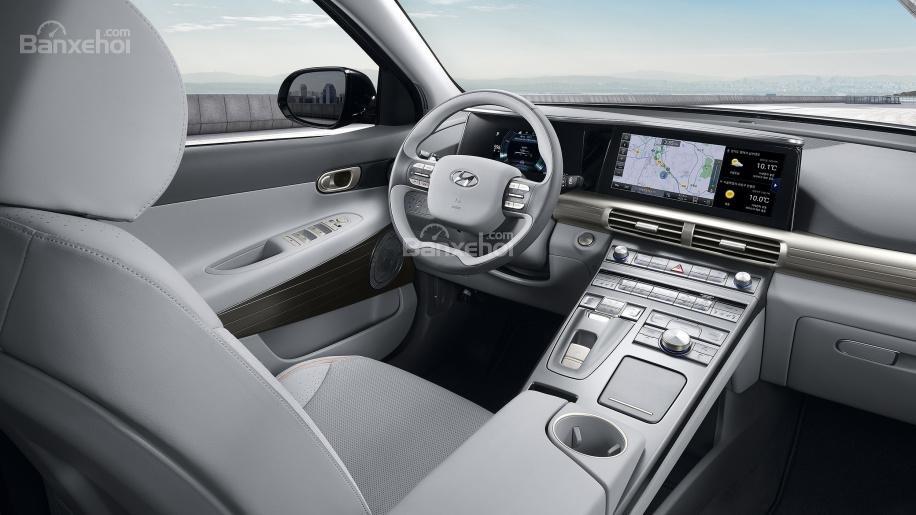 Đánh giá xe Hyundai Nexo 2019 về trang bị tiện nghi z