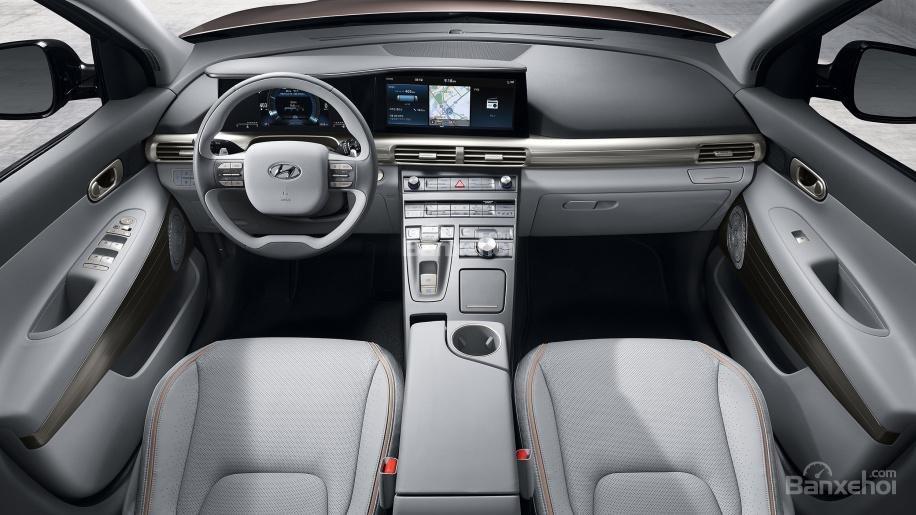Đánh giá xe Hyundai Nexo 2019: Không gian nội thất hoa mỹ và tinh tế z