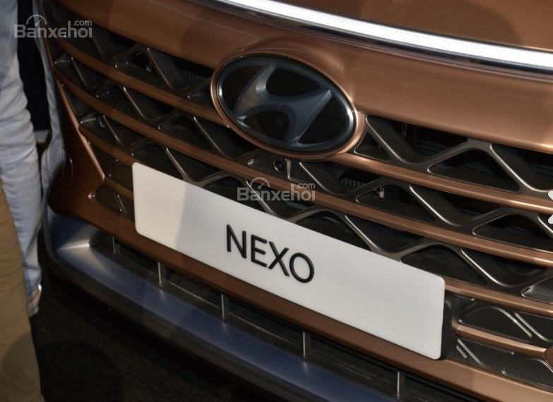 Đánh giá xe Hyundai Nexo 2019: Lưới tản nhiệt góc cạnh sắc nét z